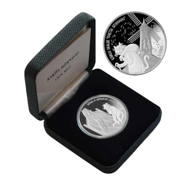 2019-latvija-katino-malunas-5-euru-sidabrine-moneta