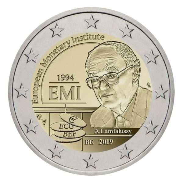 belgija-2019-pinigu-institutas-2-euru-bu-moneta-korteleje